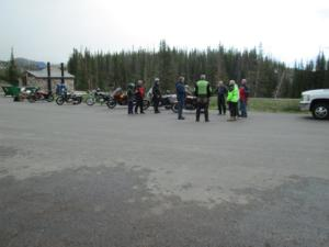 Riders at Snowy Range